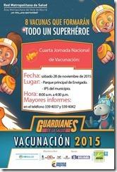 vacunacion 2015 Envigado
