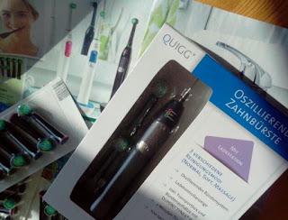 neue elektrische Zahnbürste bei Aldi
