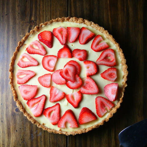 Strawberry and Ricotta Cheese Tart