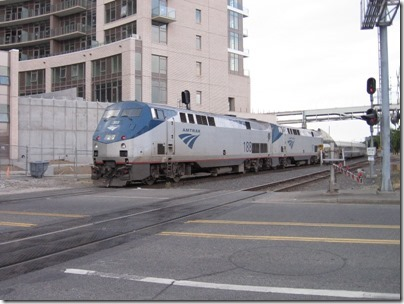 IMG_2789 Amtrak P42DC's #188 & #97 at Union Station in Portland, Oregon on August 17, 2008