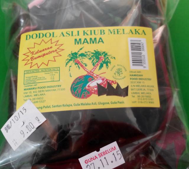 Dodol Asli Kiub Melaka IKS