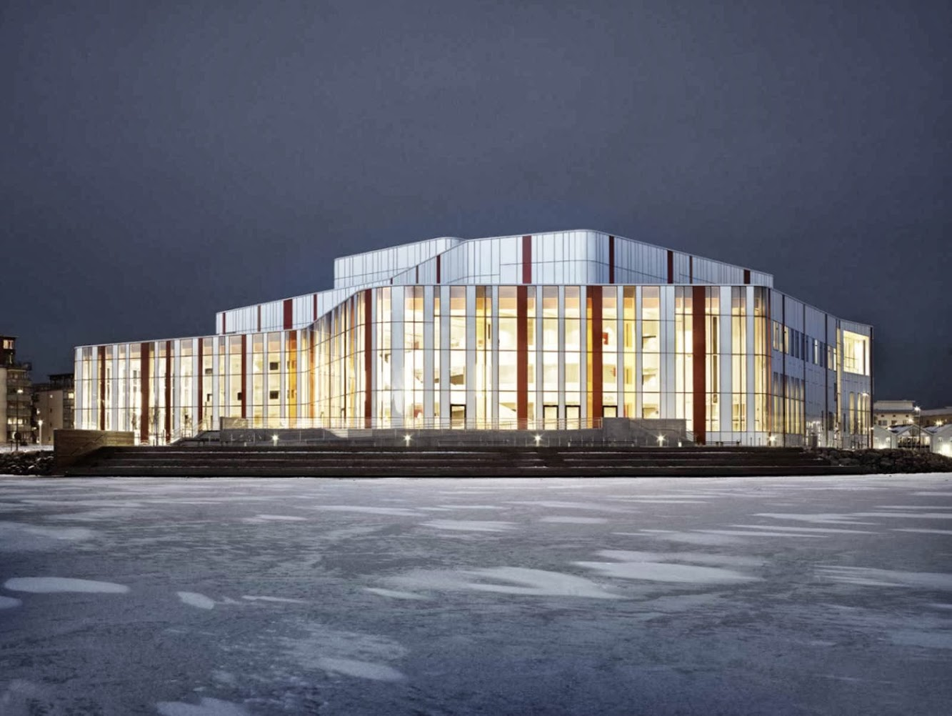Spira Performing Arts Center by Wingardh Arkitektkontor