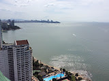 a two-bedroom apartment in a new high-class condominium    for sale in Naklua Pattaya