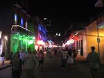 Bourbon Steet at night in New Orleans 07222012-04