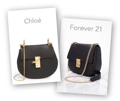 Look for Less: Chloe Drew Crossbody vs Forever 21