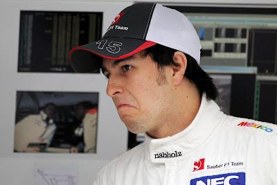 not bad Серхио Перес на Гран-при Бахрейна 2012