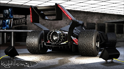 Batman F1 Car by KnightVision3D