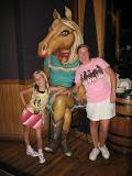 Hannah and Lori inside the Wildhorse Saloon in Nashville TN 09032011