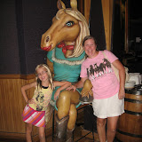 Hannah and Lori inside the Wildhorse Saloon in Nashville TN 09032011