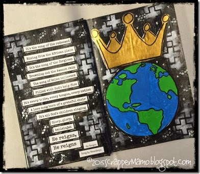 He Reigns Art Journal