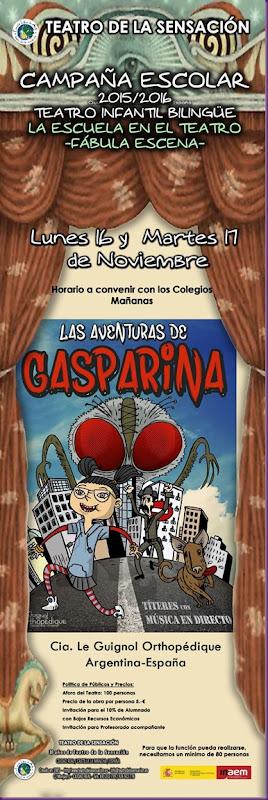 campaña escolar Gasparina