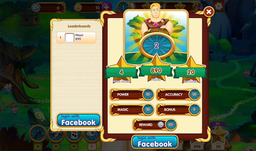 android Paradise Solitaire Screenshot 2
