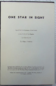 Cover of Aleister Crowley's Book Liber 489 One Star in Sight