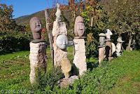 Steinkunst bei Valdobbiadene.