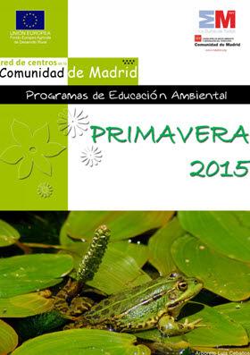 Programación en los Centros de Educación Ambiental