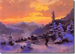 Hans_Gude--Vinterettermiddag--1847