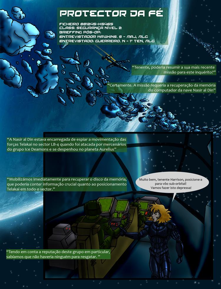 Protector da Fé - Pagina 1