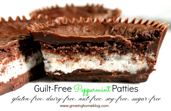 Guilt-Free Peppermint Patties