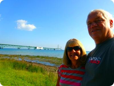 us and the Mackinac bridge