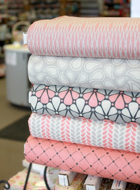 Zoey fabrics from Camelot