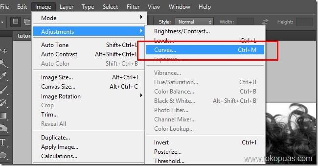 tutorial efek curves photoshop