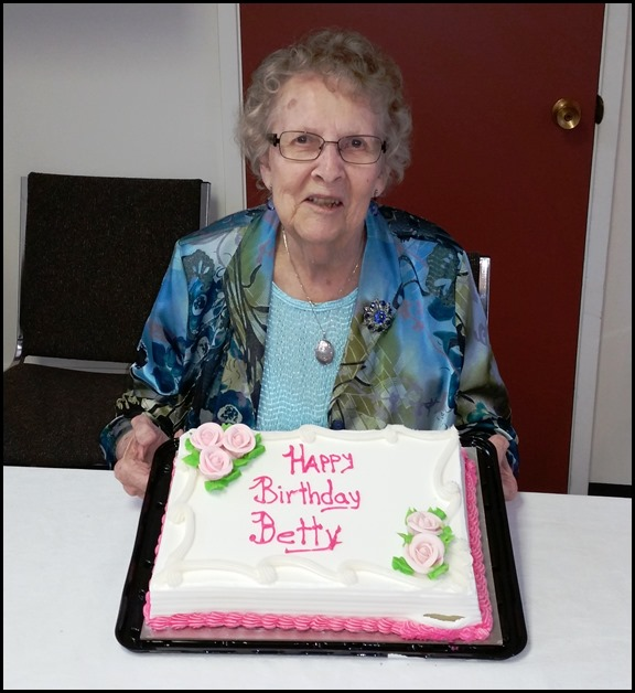 Betty's 90th Birthday