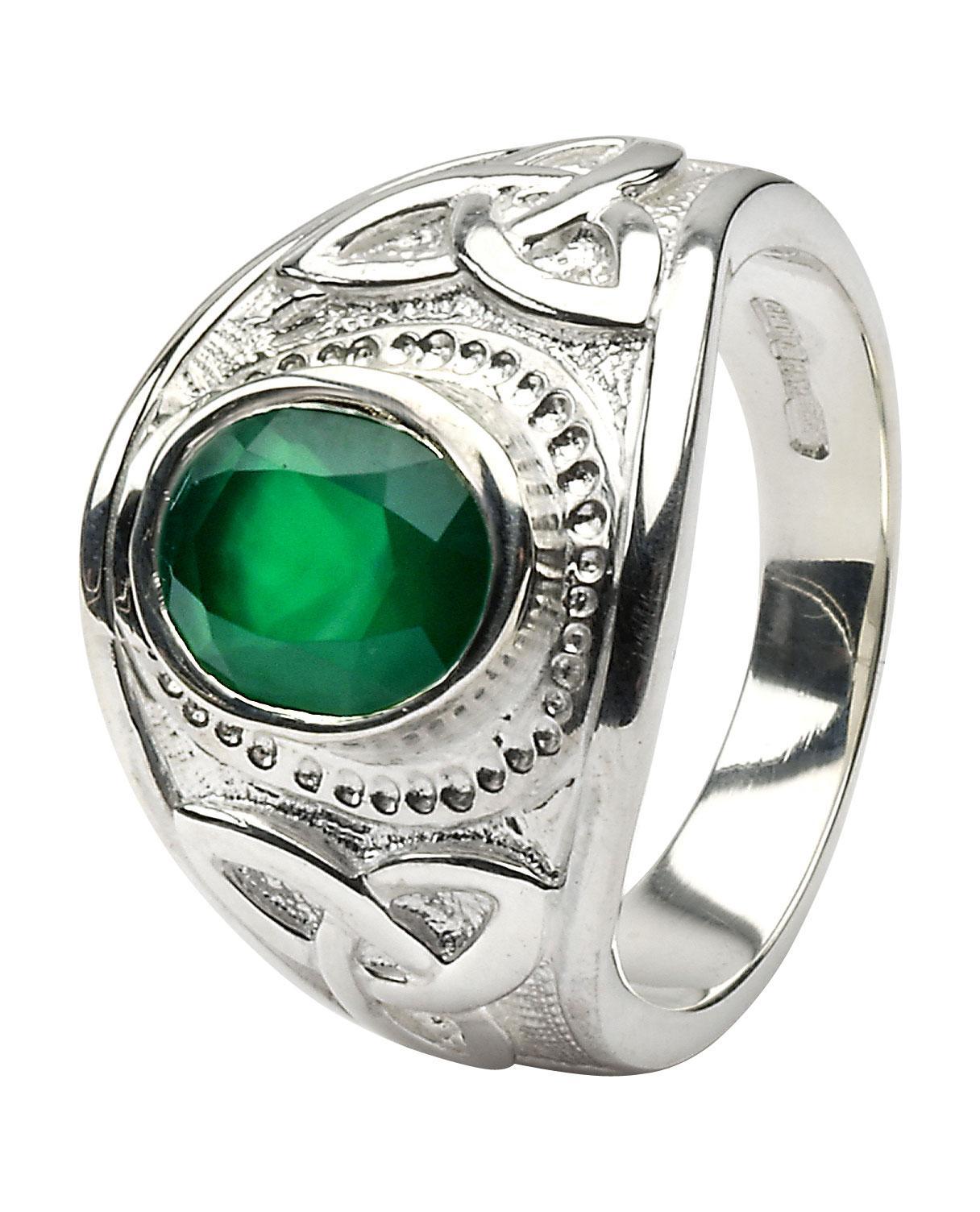 celtic diamond sapphire