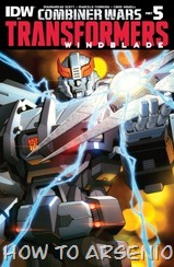 The Transformers Windblade #03 - Combiner Wars #05
