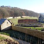 Abbaye Port-Royal des Champs : vue d'ensemble du site