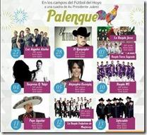 Palenque Tlalnepantla 2015 2016 2017 2018 Venta de boletos y Cartelera de Conciertos