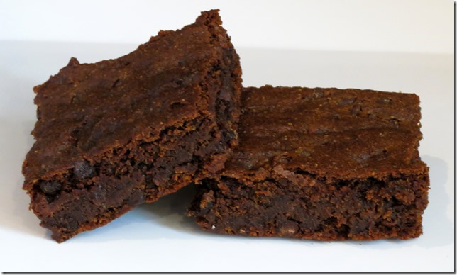 Grain Free Chocolate Pumpkin Brownie Bars