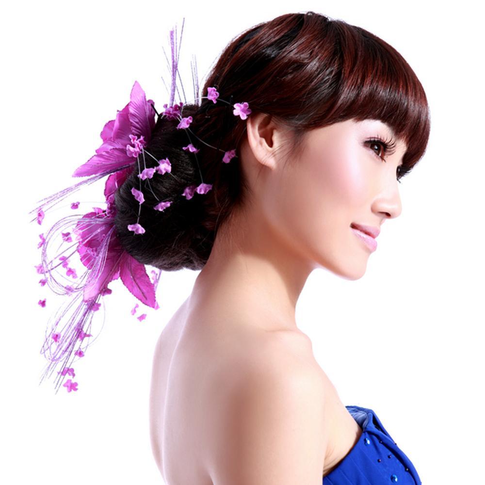 wedding flowers purple,