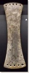 Illeta dels Banyets - Brazalete de arquero o pectoral de la Edad del Bronce