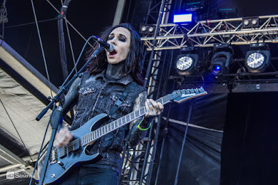 Motionless in White au Hellfest 2015