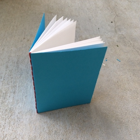 finished handmade book