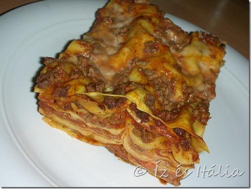 olasz tészták, lasagne