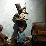 Sculptures at the Kalahari hotel in OH 02192012b