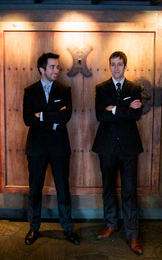 Brian (left) and Mark Canlis [photo courtesy Canlis family]