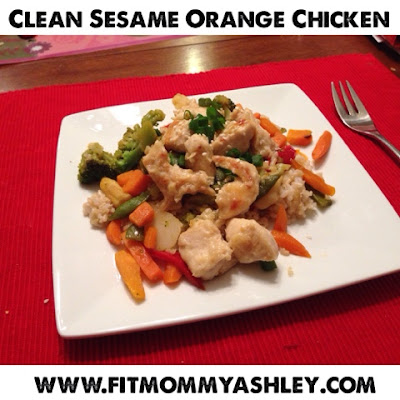 chinese, healthy, takeout, 21 day fix, hammer and chisel, recipes, clean eating, stir fry, orange, sesame, easy, general tso, delivery, fit, ashley roberts