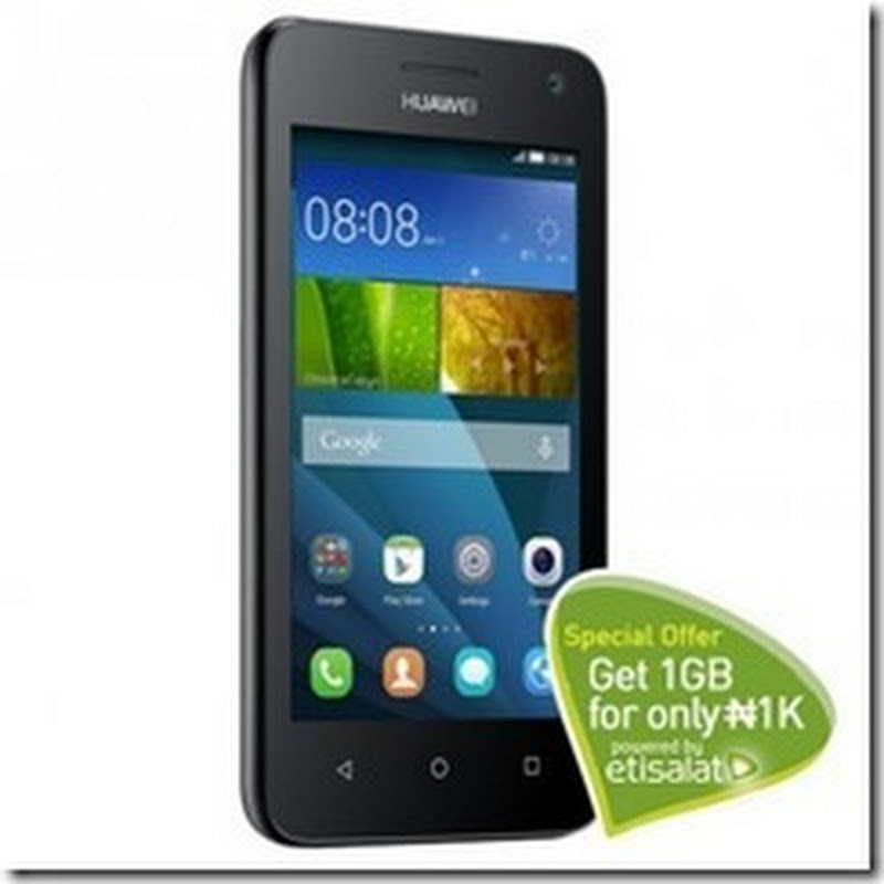Get Huawei Y3 4.4 KitKat on Konga For N12,900 Only!