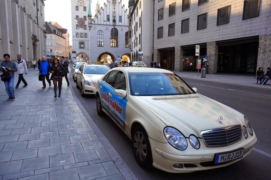 Такси в Мюнхене