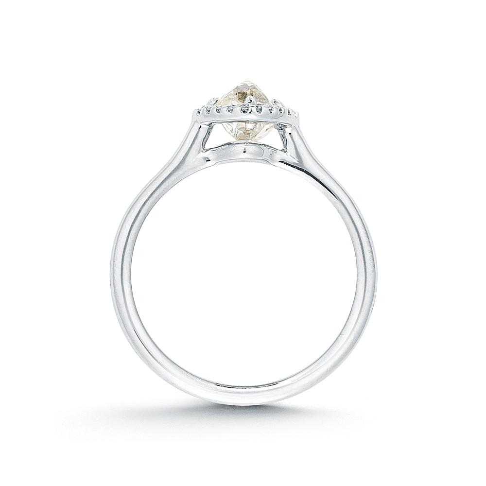 Grace Rough Diamond Engagement Ring 3D066-0.83 - Grace - Bridal Boutique