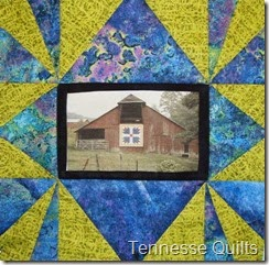 Tennessee Quilts Barn Block