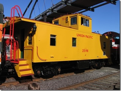 IMG_2887 Union Pacific CA-4 Caboose #25198 at Union Station in Portland, Oregon on May 8, 2010