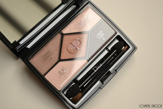 Diorshow 5 Couleurs Designer Nude Pink Design Eyeshadow Palette Review Swatches