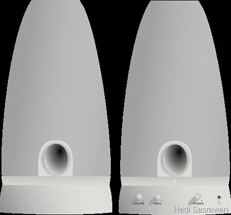 perangkat komputer speaker