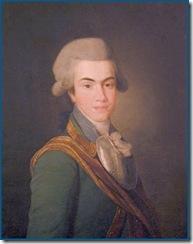 Ivan Dolgoruki, padre de Dimitri Ivanovich, oleo de D. Levitsky , 1782.