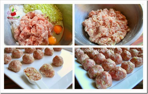 JAPANESE PORK MEATBALLS