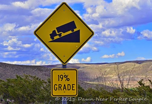 Incline Sign