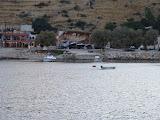 Terug in de haven van Agios Nicolaos.